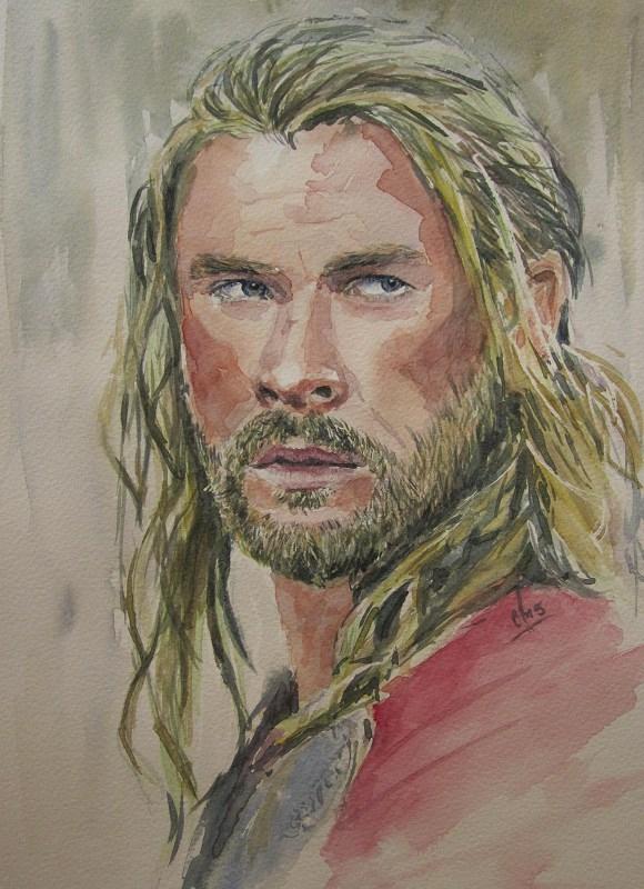 Chris Hemsworth by Ans66